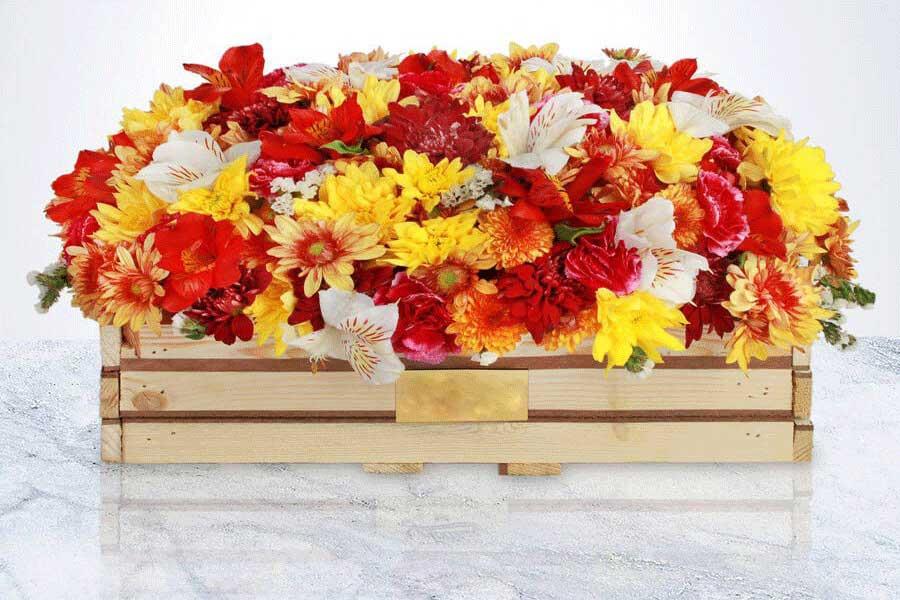 سبد گل برای عیادت بیمار