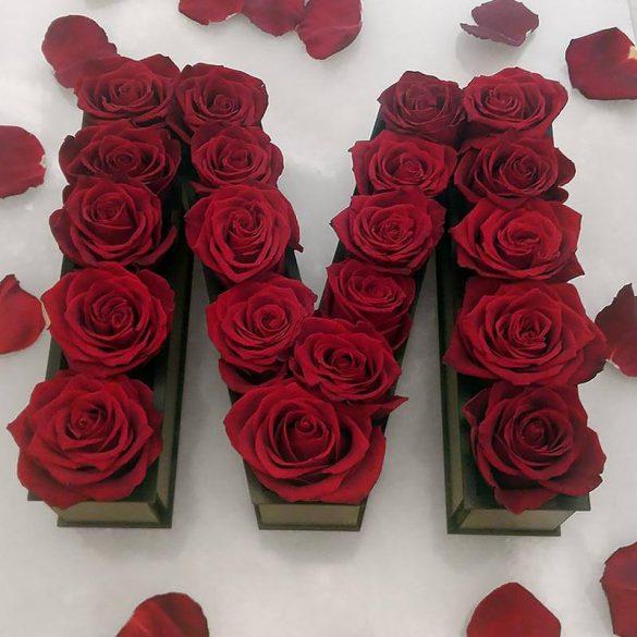 باکس گل برای کادو تولد