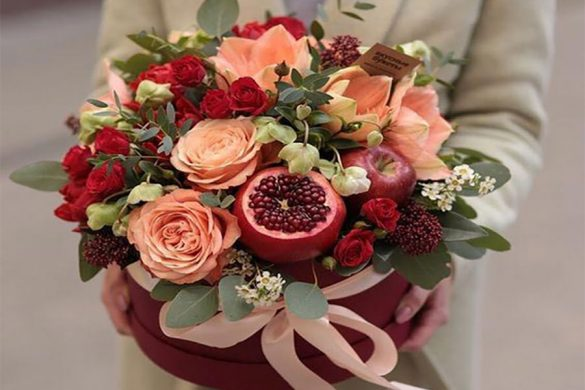 دسته گل برای شب یلدا